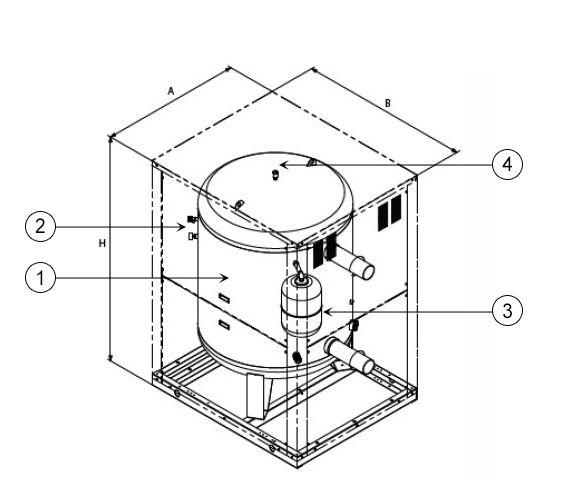 схема моноблочного гидромодуля