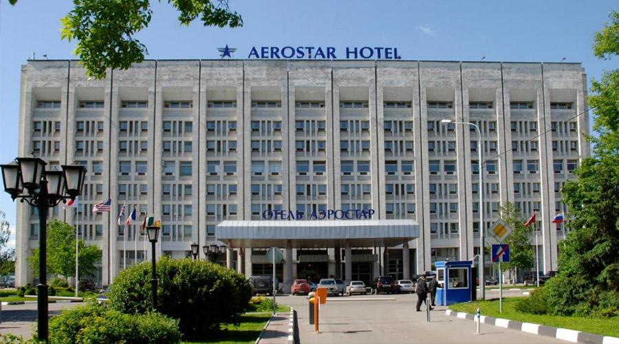 Системы кондиционирования DANTEX в гостинице AEROSTAR