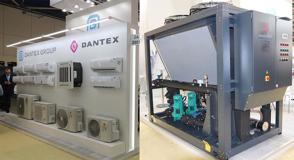 Оборудование Dantex на стенде